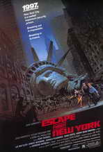 Escape from New York - 27 x 40 Movie Poster - Style A