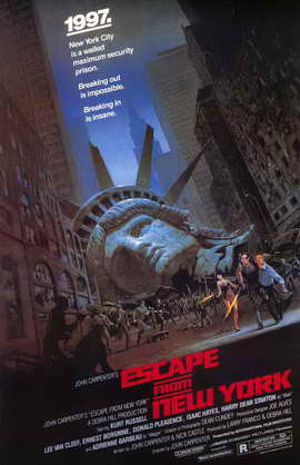 Escape from New York - 11 x 17 Movie Poster - Style A