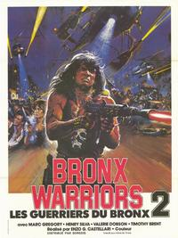 Escape From the Bronx - 11 x 17 Movie Poster - French Style A