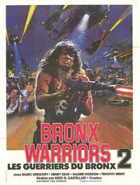 Escape From the Bronx - 27 x 40 Movie Poster - French Style A