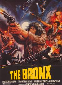 Escape From the Bronx - 43 x 62 Movie Poster - Bus Shelter Style A