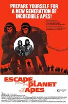 Escape from the Planet of the Apes - 11 x 17 Movie Poster - Style C