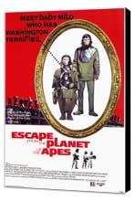 Escape from the Planet of the Apes - 11 x 17 Movie Poster - Style A - Museum Wrapped Canvas