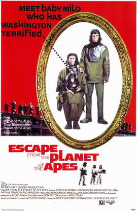 Escape from the Planet of the Apes - 11 x 17 Movie Poster - Style A