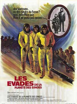 Escape from the Planet of the Apes - 11 x 17 Movie Poster - French Style A