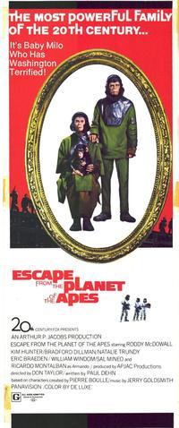 Escape from the Planet of the Apes - 11 x 17 Movie Poster - Style B