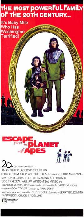 Escape from the Planet of the Apes - 14 x 36 Movie Poster - Insert Style A