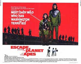 Escape from the Planet of the Apes - 22 x 28 Movie Poster - Half Sheet Style A
