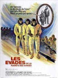 Escape from the Planet of the Apes - 27 x 40 Movie Poster - French Style A