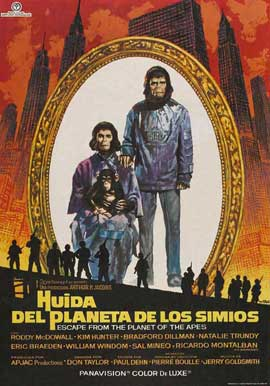 Escape from the Planet of the Apes - 11 x 17 Movie Poster - Spanish Style A