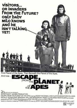 Escape from the Planet of the Apes - 11 x 17 Movie Poster - Style D