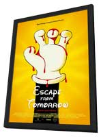 Escape From Tomorrow - 11 x 17 Movie Poster - Style B - in Deluxe Wood Frame