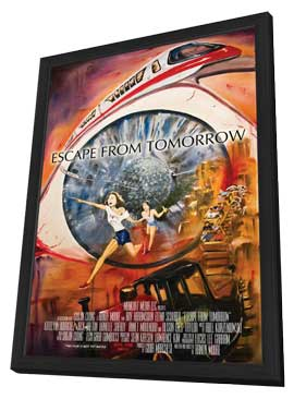 Escape From Tomorrow - 27 x 40 Movie Poster - Style A - in Deluxe Wood Frame