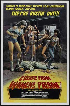 Escape from Women's Prison - 11 x 17 Movie Poster - Style A