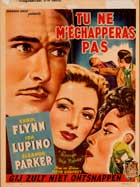 Escape Me Never - 27 x 40 Movie Poster - Belgian Style A