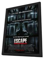 Escape Plan - 11 x 17 Movie Poster - Style A - in Deluxe Wood Frame