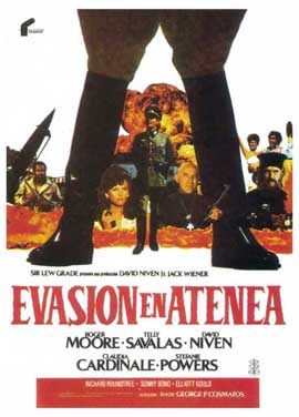 Escape to Athena - 11 x 17 Movie Poster - Spanish Style B