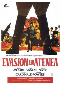 Escape to Athena - 27 x 40 Movie Poster - Spanish Style A