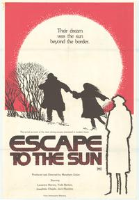 Escape to the Sun - 43 x 62 Movie Poster - Bus Shelter Style A