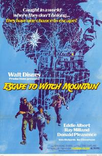 Escape to Witch Mountain - 11 x 17 Movie Poster - Style A