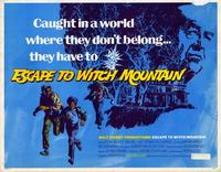Escape to Witch Mountain - 22 x 28 Movie Poster - Half Sheet Style A