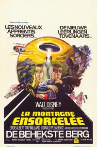 Escape to Witch Mountain - 11 x 17 Movie Poster - Belgian Style A