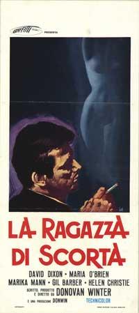 Escort Girls - 13 x 28 Movie Poster - Italian Style A