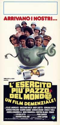 Esercito pi� pazzo del mondo, L' - 13 x 28 Movie Poster - Italian Style A