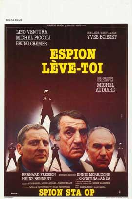 Espion, l�ve-toi - 11 x 17 Movie Poster - Belgian Style A
