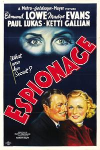 Espionage - 11 x 17 Movie Poster - Style A
