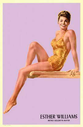 Esther Williams - 11 x 17 Movie Poster - Style A