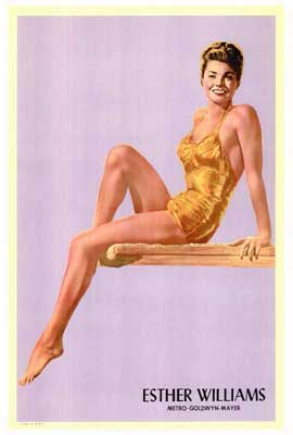 Esther Williams - 27 x 40 Movie Poster - Style A