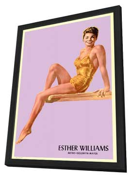 Esther Williams - 11 x 17 Movie Poster - Style A - in Deluxe Wood Frame
