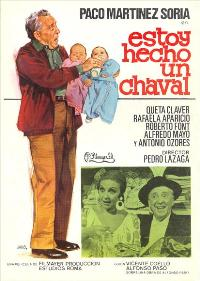 Estoy hecho un chaval - 27 x 40 Movie Poster - Spanish Style A