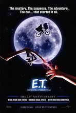 E.T.  The Extra-Terrestrial - 11 x 17 Movie Poster - Style A
