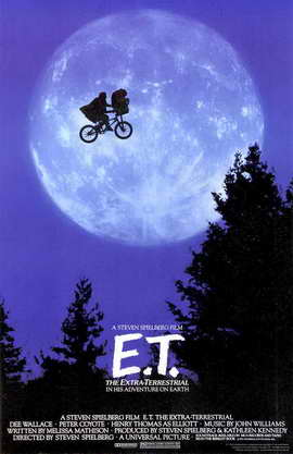 E.T.  The Extra-Terrestrial - 11 x 17 Movie Poster - Style C