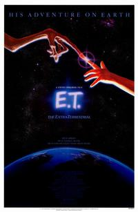 E.T.  The Extra-Terrestrial - 27 x 40 Movie Poster - Style B