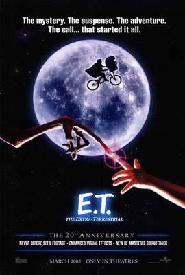 E.T.  The Extra-Terrestrial - 27 x 40 Movie Poster - Style A