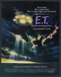E.T.  The Extra-Terrestrial - 11 x 17 Movie Poster - Style G