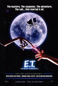 E.T.  The Extra-Terrestrial - 11 x 17 Movie Poster - Style A - Museum Wrapped Canvas