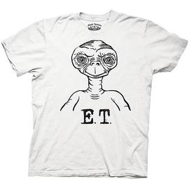 E.T.  The Extra-Terrestrial - Black and White T-Shirt