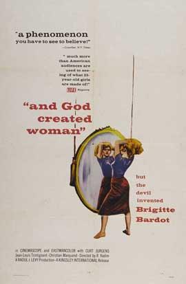 Et Dieu... cr�a la femme - 27 x 40 Movie Poster - Style A