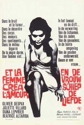 Et la femme cr�a l'amour - 27 x 40 Movie Poster - Belgian Style A