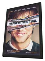 Eternal Sunshine of the Spotless Mind - 27 x 40 Movie Poster - Style B - in Deluxe Wood Frame