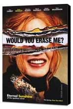 Eternal Sunshine of the Spotless Mind - 27 x 40 Movie Poster - Style D - Museum Wrapped Canvas
