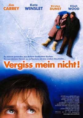 Eternal Sunshine of the Spotless Mind - 11 x 17 Movie Poster - German Style A