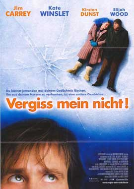 Eternal Sunshine of the Spotless Mind - 23 x 33 Movie Poster - German Style A