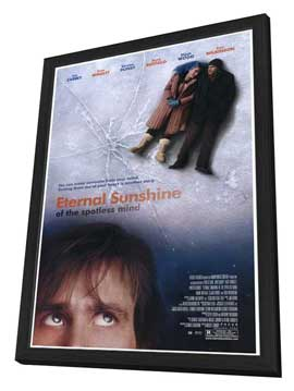 Eternal Sunshine of the Spotless Mind - 11 x 17 Movie Poster - Style B - in Deluxe Wood Frame