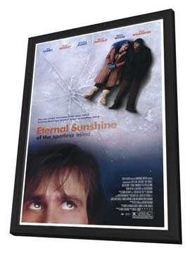 Eternal Sunshine of the Spotless Mind - 27 x 40 Movie Poster - Style A - in Deluxe Wood Frame