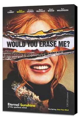 Eternal Sunshine of the Spotless Mind - 11 x 17 Movie Poster - Style E - Museum Wrapped Canvas